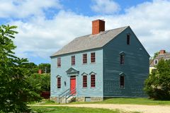 Wheelwright House, Portsmouth, New Hampshire Imagenes de archivo