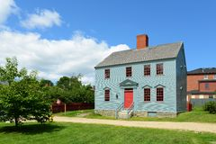 Wheelwright House, Portsmouth, New Hampshire Stock Image