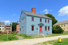 Wheelwright House, Portsmouth, New Hampshire Royalty Free Stock Photos