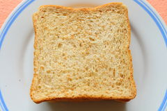 Wheet bread from top Royalty Free Stock Images