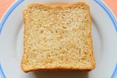 Wheet chleb od wierzchołka Obrazy Royalty Free