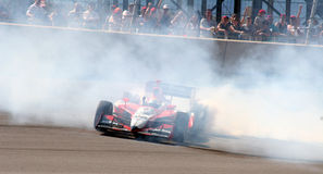 Wheldon Victory Burnout Royalty Free Stock Photo