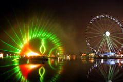 Whele Augen auf Malaysian Lizenzfreie Stockfotografie