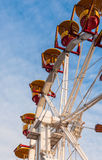 Whell carousel. In Tineretului park from Bucharest, Romania Stock Images