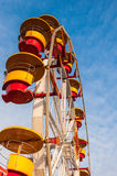 Whell carousel. In Tineretului park from Bucharest, Romania Royalty Free Stock Image