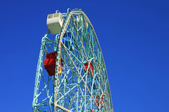 Whell di meraviglia, Coney Island Fotografia Stock
