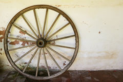 Whell of old wagon. A whell of old wagon Stock Photography