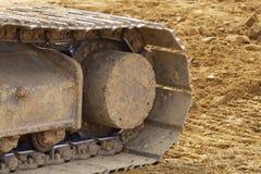 Whelled grävskopor Fotografering för Bildbyråer