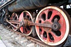 Whells del tren Imagen de archivo libre de regalías