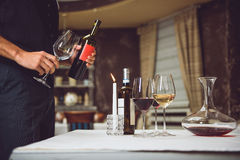 Free When You Cannot Take Final Decision About Wine Stock Images - 81797054