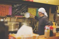 Japanese Ramen Shop royalty free stock photography