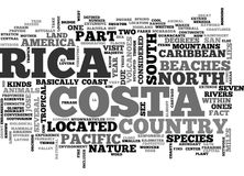 Where Is Costa Rica Located Word Cloud. WHERE IS COSTA RICA LOCATED TEXT WORD CLOUD CONCEPT stock illustration