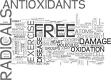 Where Does Free Radicals Come From Word Cloud. WHERE DOES FREE RADICALS COME FROM TEXT WORD CLOUD CONCEPT Royalty Free Stock Photo