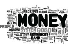 Where Does Money Come Fromword Cloud Royalty Free Stock Photos