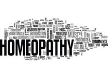 Where Else To Get Homeopathy Remedies But Online Word Cloud Royalty Free Stock Image