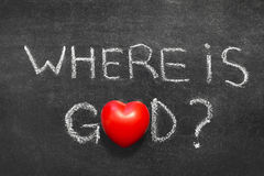 Where is God Royalty Free Stock Image
