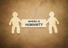 Where is humanity Stock Photography