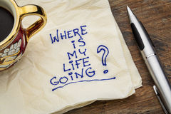 Free Where Is My Life Going Stock Image - 34111021