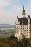 Where kings roam... The Neuschwanstein castle in Bavaria, on a beautiful day in autumn Stock Photo