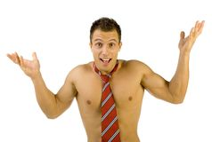 Where are my clothes? Stock Photography
