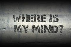 Where is my mind gr Stock Photos
