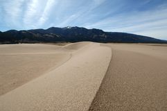 Where's the Coke Machine!. Great sand dunes in colorado early spring time royalty free stock photos