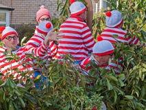 Where's Wally or Waldo ? Royalty Free Stock Photography