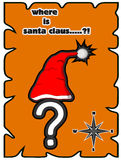 Where is santa claus Royalty Free Stock Image