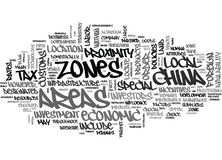 Where Should You Locate Your Business In China Word Cloud Stock Images