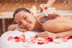 Where stress ends and your relaxation begins Stock Photo