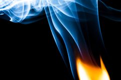 Where There is Fire There is Smoke Royalty Free Stock Photos