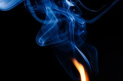 Where There is Fire There is Smoke Stock Images