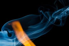 Where There is Fire There is Smoke Royalty Free Stock Photo