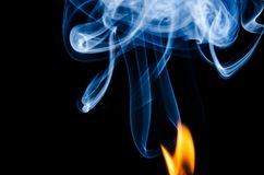 Where There is Fire There is Smoke Royalty Free Stock Images