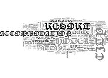 Where To Find Great Resort In Pattaya City Word Cloud Stock Photos