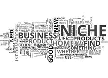 Where To Find Your Niche Word Cloud. WHERE TO FIND YOUR NICHE TEXT WORD CLOUD CONCEPT Royalty Free Stock Photo