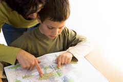 Where To Travel Isolated Stock Images