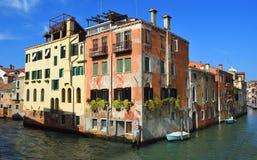 Where two Venice Canals meet Rio di Noele & Rio della Misericordia. Where two Venice Canals meet Rio di Noele & Rio della Misericordia stock photo
