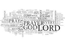 Where Are You Lord Word Cloud Royalty Free Stock Image