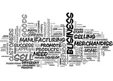 Where You Sell Determines How You Sell Word Cloud Royalty Free Stock Photos