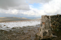 Whernside Summit. Royalty Free Stock Photo