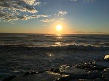 Wheter y mar Imagen de archivo libre de regalías