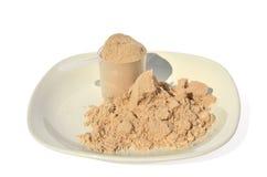 Whey protein Royalty Free Stock Photos
