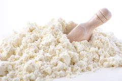 Whey Protein Powder with Scoop. Stock Photos
