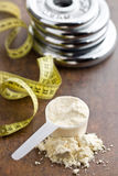 The whey protein Stock Images