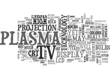 Which Is Better To Buy A Lcd Or A Plasma Tv Confused Word Cloud Royalty Free Stock Photo