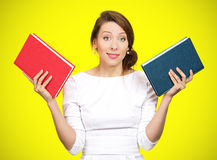 Which book? Royalty Free Stock Photo