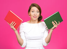 Which book? Royalty Free Stock Image