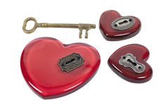 Which Heart to Unlock Royalty Free Stock Photos