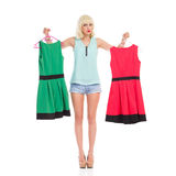 Which one should I dress? Stock Photo
